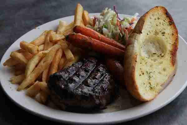 bud spud steak lee's on devries